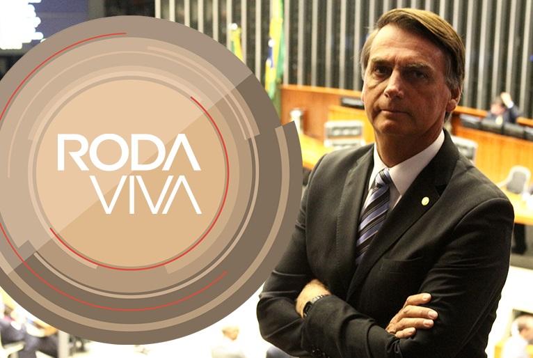 'Roda Viva' com Bolsonaro trouxe perguntas que o deputado responde desde a época do 'CQC'. Foto: Divulgação/TV Cultura
