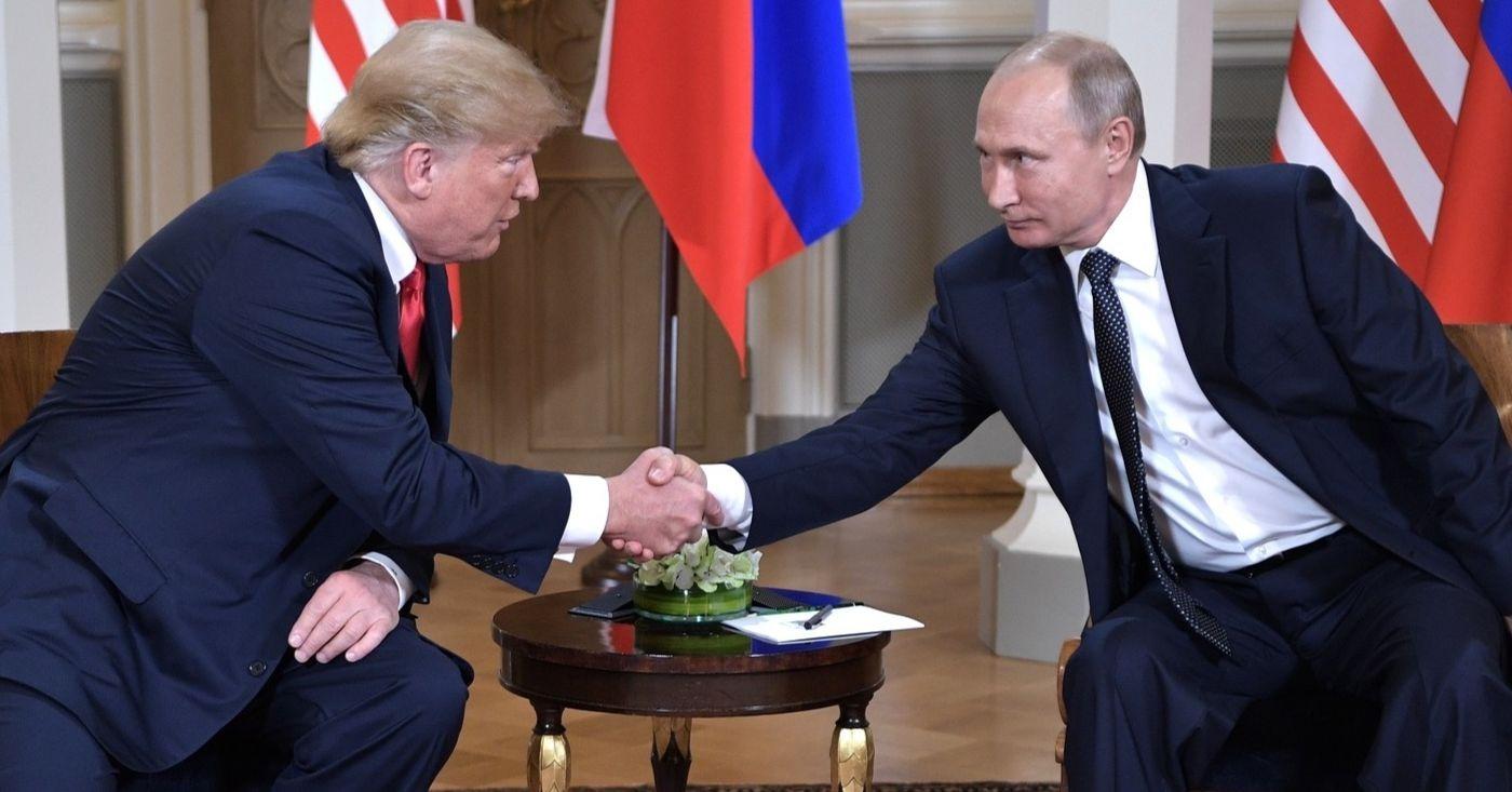 Trump e Putin têm bem mais a discutir do que uma eleição ocorrida 20 meses atrás. Foto: Kremlin.ru