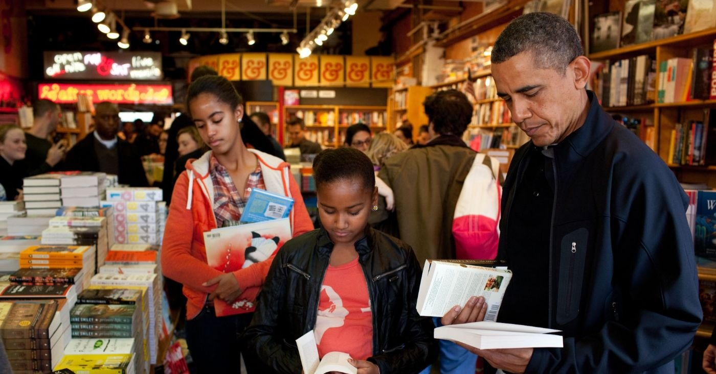 Biografias dominam a lista de leitura do 44º Presidente. (Official White House Photo by Pete Souza).
