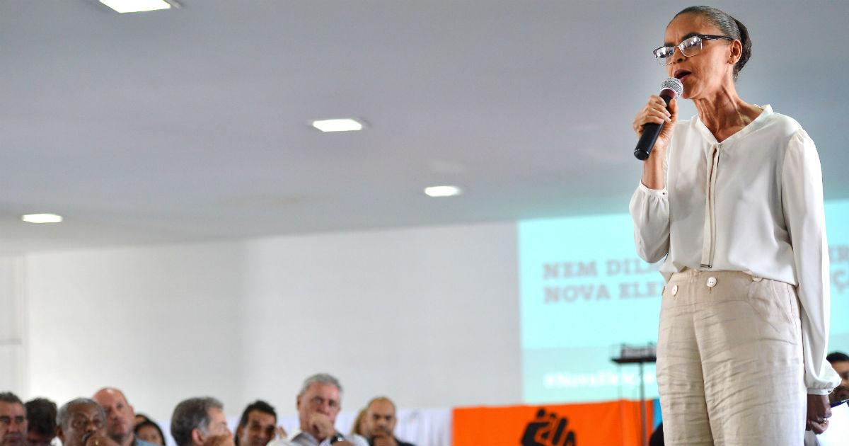 Em 2014, Marina entrou na disputa com atraso, mas para liderar. Foto: Elza Fiuza/Agência Brasil