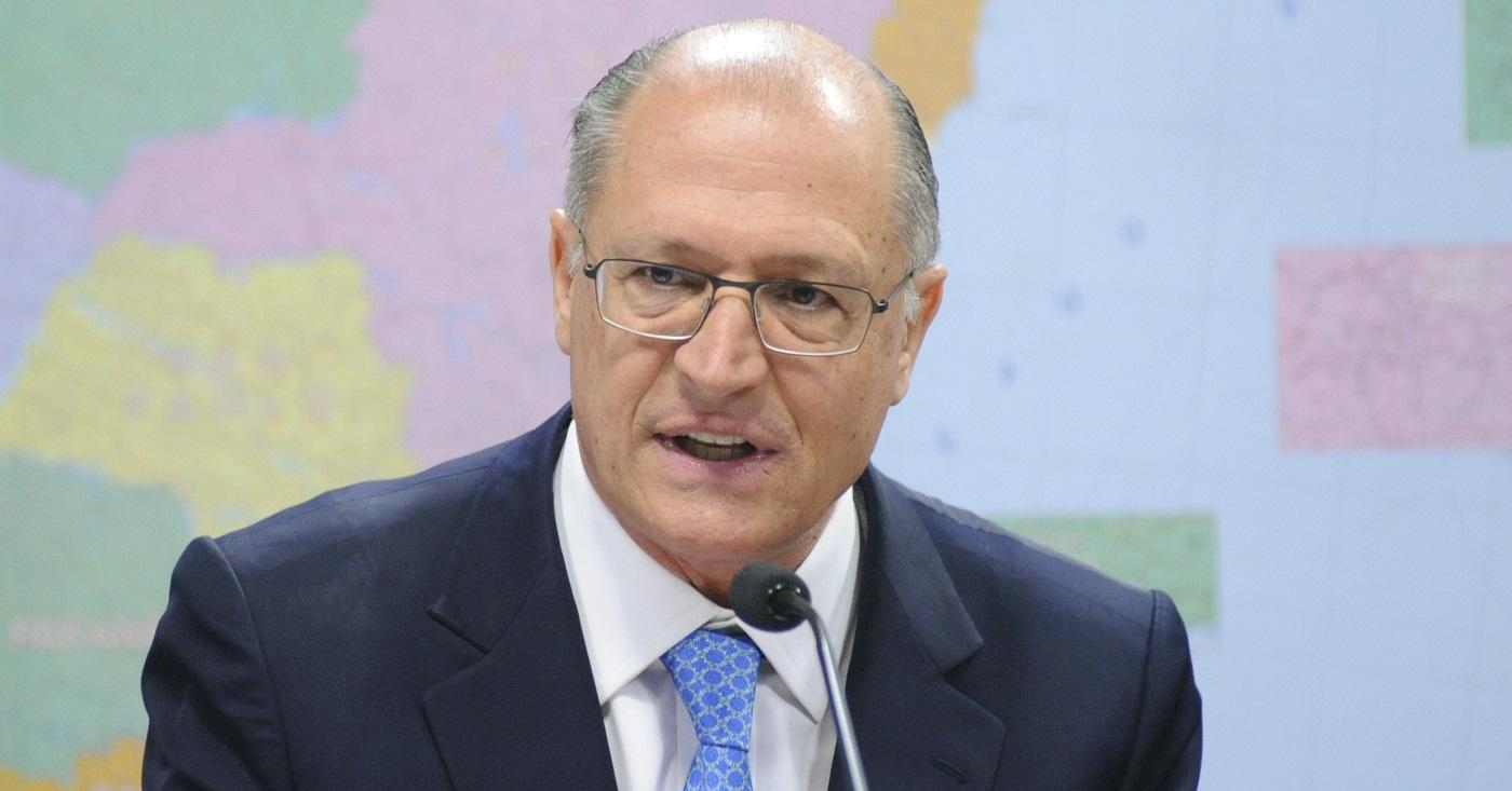 Alckmin levou o tempo do Centrão, mas não o dinheiro. Foto: Pedro França/Agência Senado.