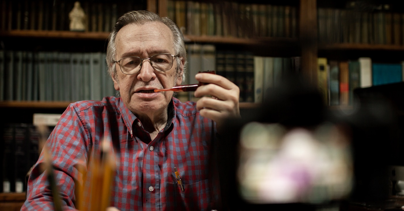 Livro de Olavo de Carvalho é criticado principalmente por quem nunca leu. Foto: Mauro Ventura