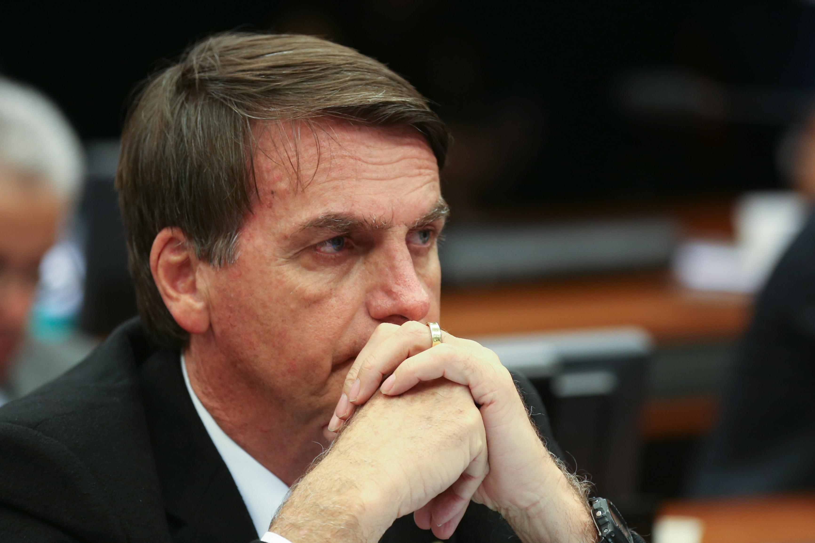 Bolsonaro: para Datafolha, só tem chances contra Haddad. No Ibope, tudo pode acontecer. Foto: Fábio Rodrigues Pozzebom/Agência Brasil