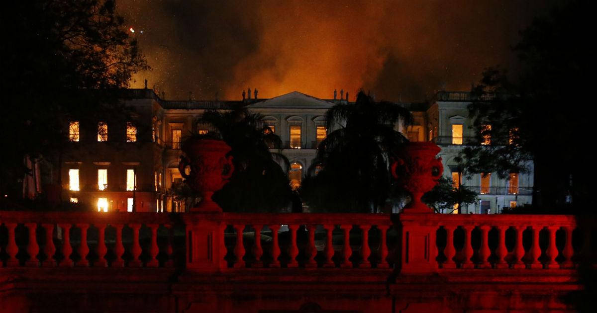O Museu Nacional enfrentava graves problemas há mais de meio século. Foto: Tania Rego/Agencia Brasil
