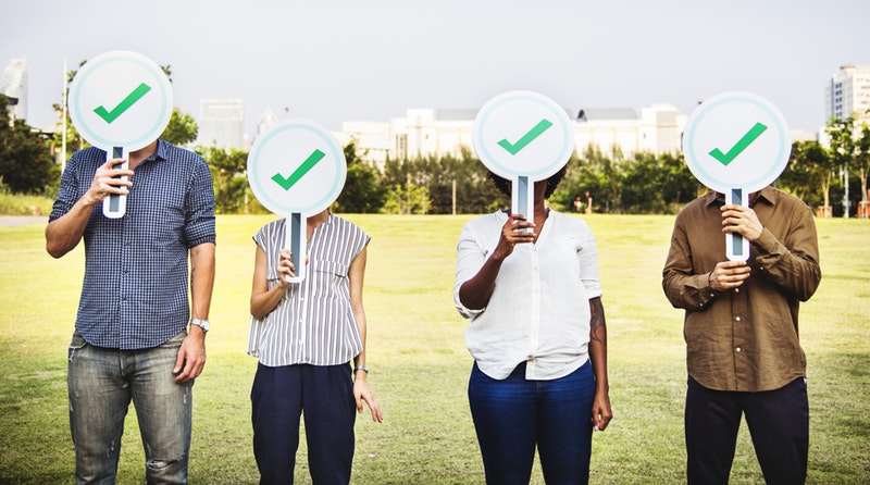 O voto é um deus ciumento. Foto: Rawpixel/Pexels