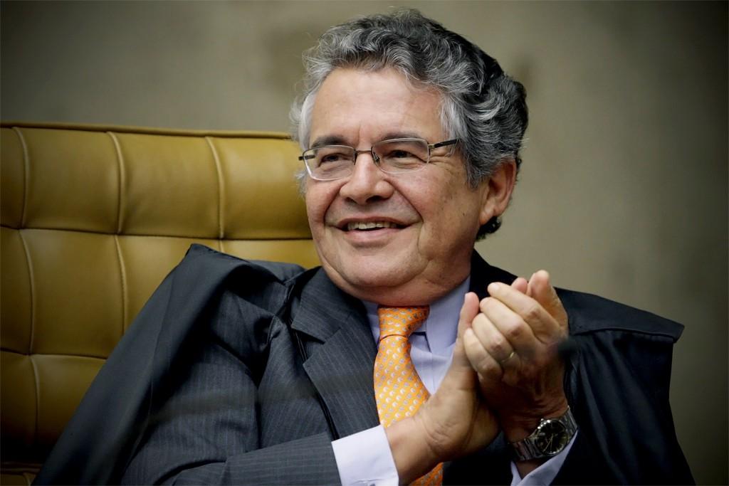 """Marco Aurélio: """"com o Supremo, com tudo"""". Foto: Fellipe Sampaio/SCO/STF"""