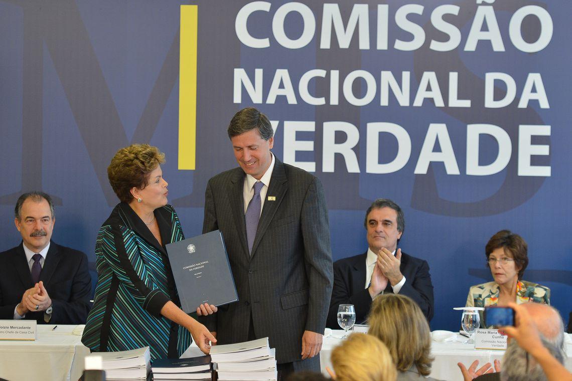 Dilma em 2014: processo de indenização na Comissão de Anistia só será publicado depois do julgamento. Foto: José Cruz/Agência Brasil
