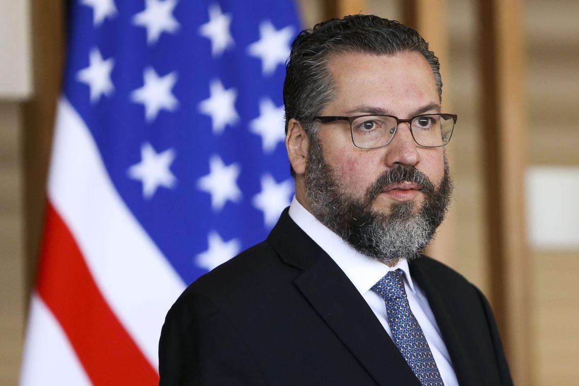 'Arnesto' Araújo: liderando a diplomacia Caco Antibes. Foto: Marcelo Camargo/Agência Brasil