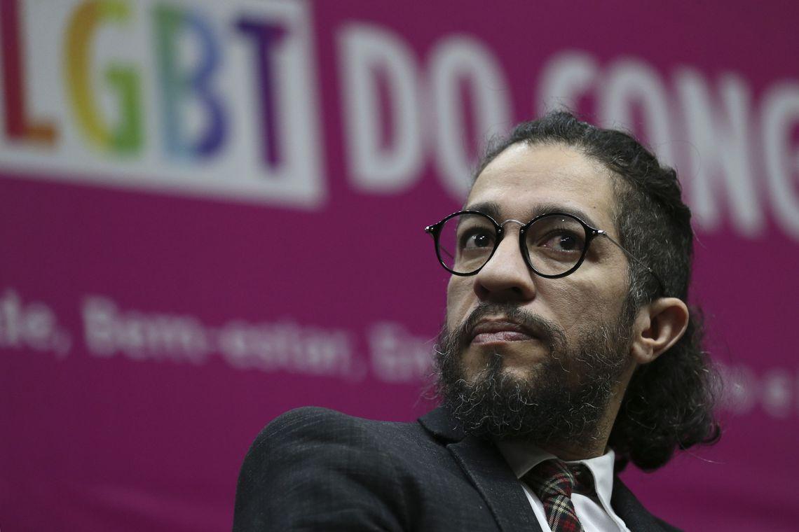 O ex-deputado federal Jean Wyllys: renúncia fora dos canais oficiais do governo. Foto: José Cruz/Agência Brasil