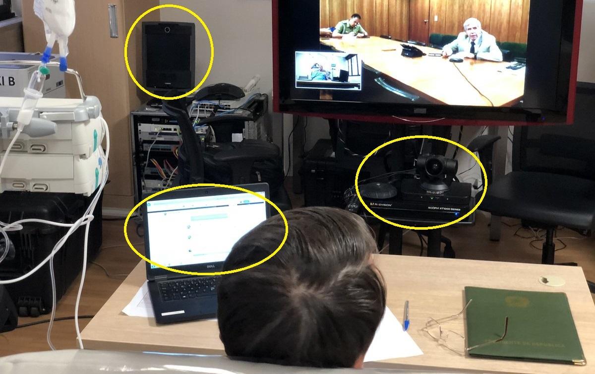 Especialista em cibersegurança mostra as vulnerabilidades nas publicações do Presidente e do vereador Carlos. Foto: Jair Bolsonaro/Twitter