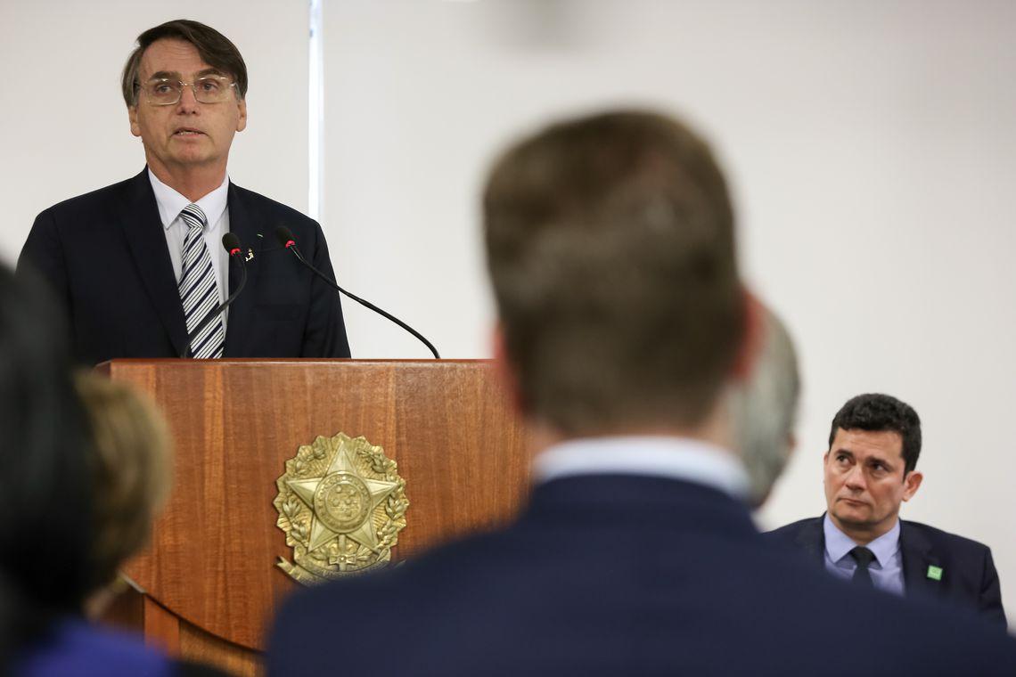 O presidente mentiu e se comportou de forma incompatível com a dignidade do cargo. Foto: Marcos Corrêa/PR
