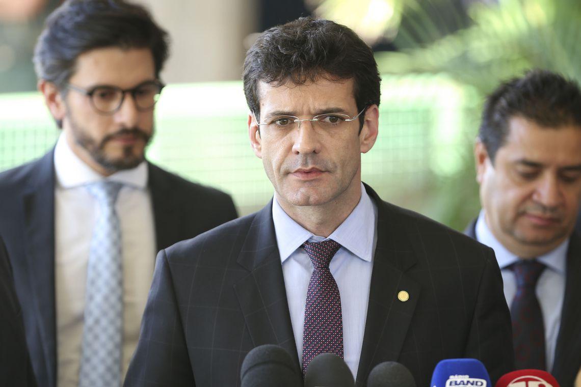 Marcelo Álvaro Antônio, do Turismo: agora ministro-estagiário. Foto: Valter Campanato/Agência Brasil