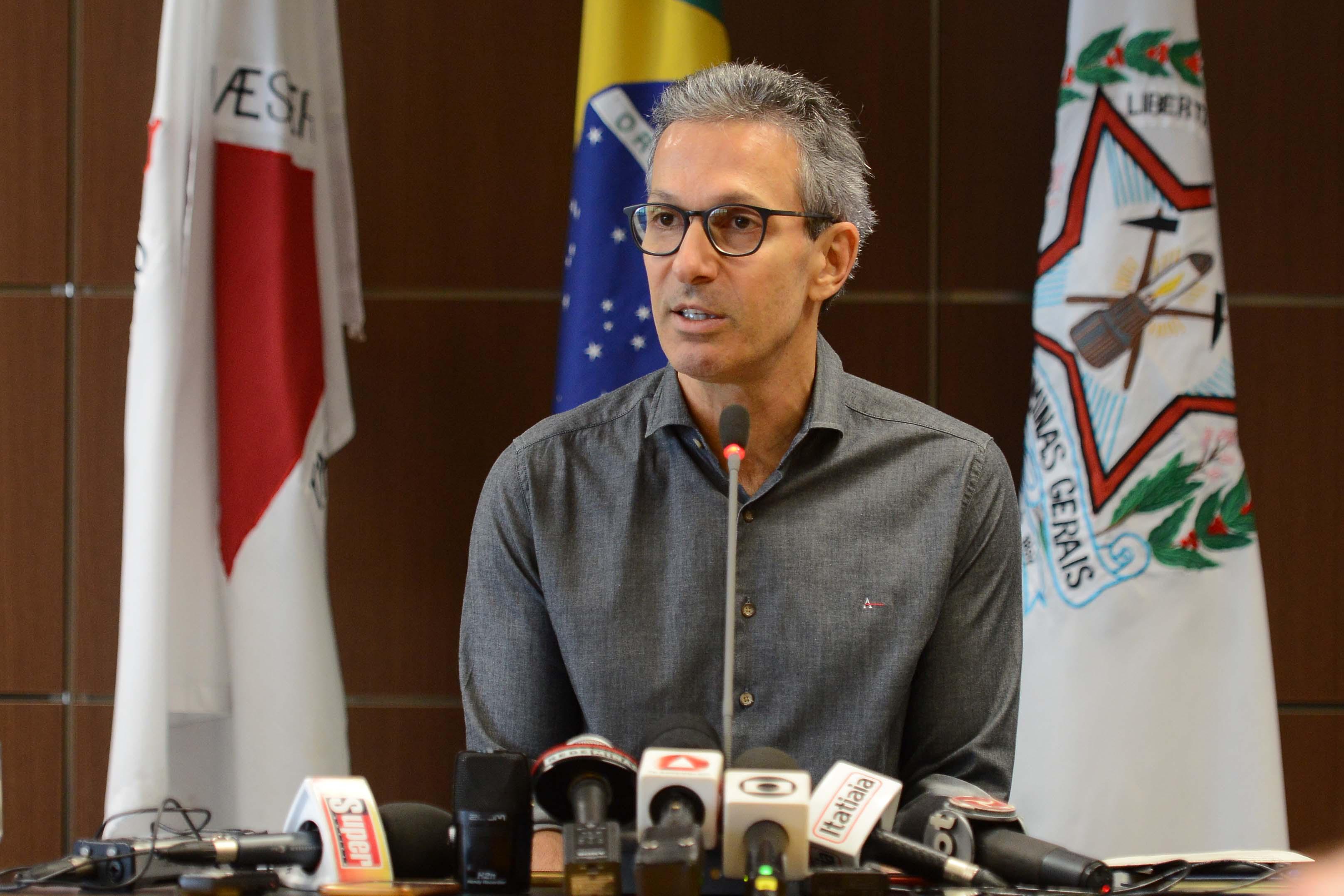 O governador: reforma não chega a 1% dos gastos nem 1% do déficit. Foto: Gil Leonardi/Imprensa MG