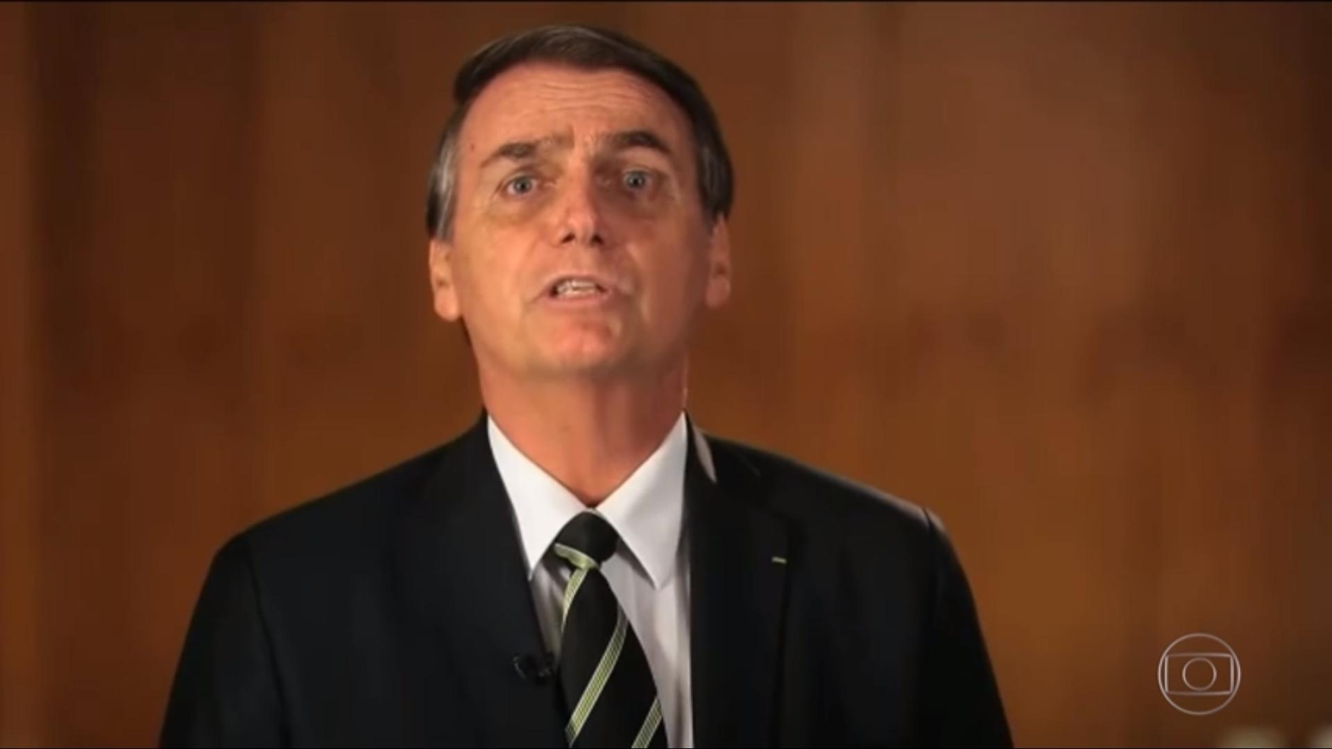 Este homem diz acreditar na seriedade de Gustavo Bebianno. Por que o demitiu? Foto: Reprodução/TV Globo
