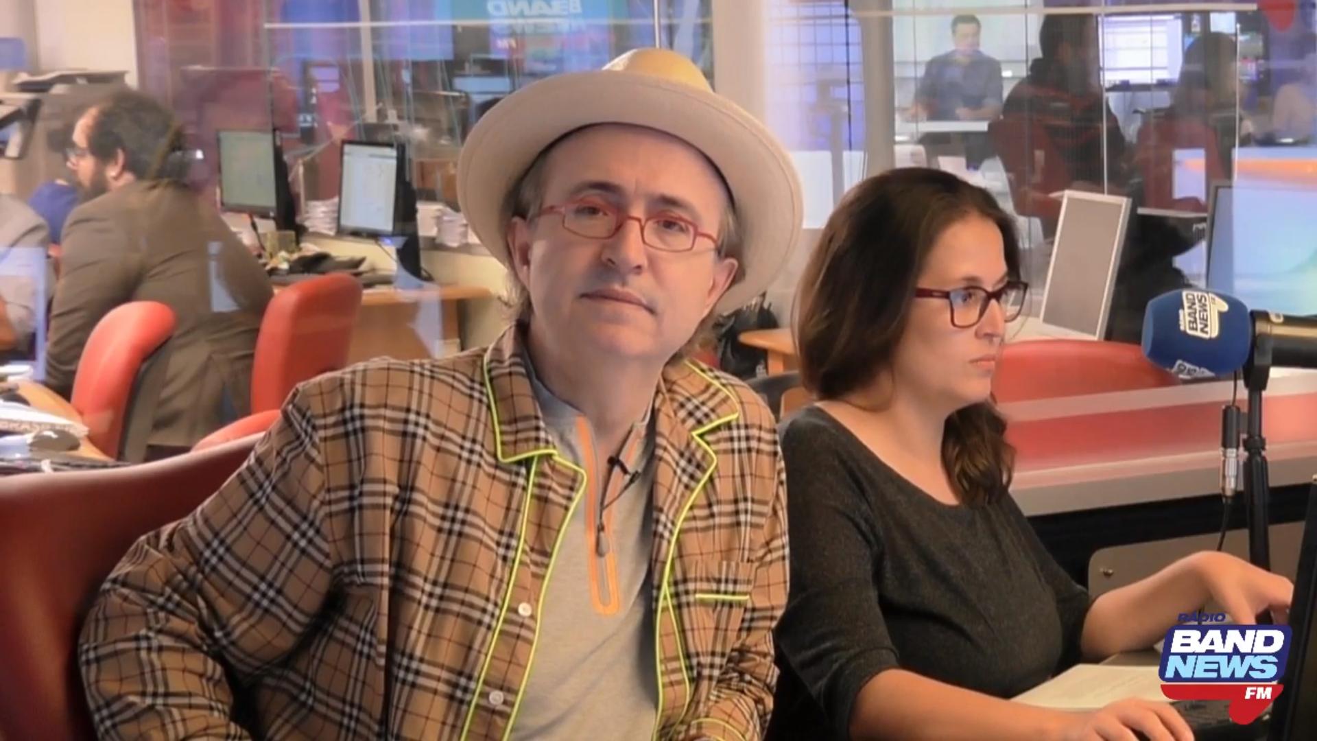 Reinaldo Azevedo: 'O Ué da Coisa' pode superar 'O É da Coisa' em audiência. Foto: Reprodução/BandNews FM